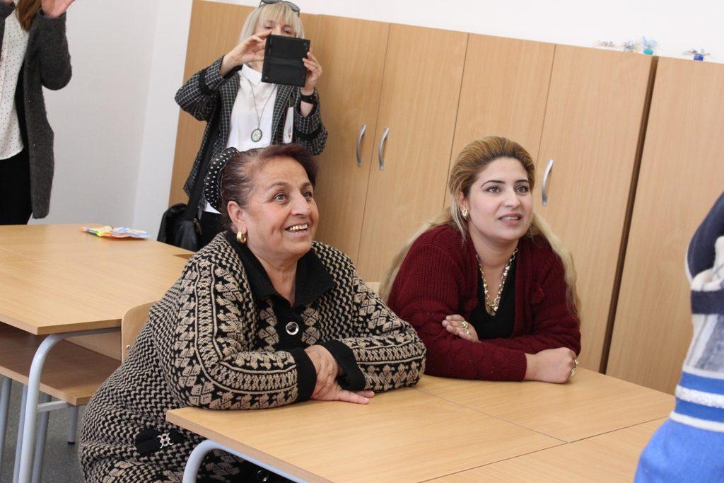майка и баба на децата са гости на занятията