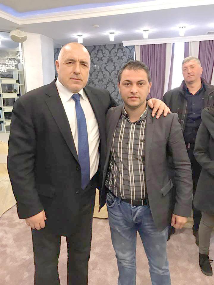 Бойко Борисов и Велизар Шанов