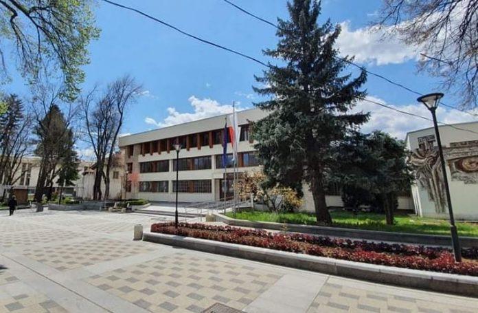 сградата на Община Велинград