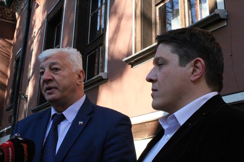 Здравко Димитров и Богомил Грозев