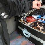 митническа проверка на куфар с парфюми