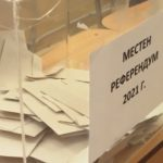 избирателна кутия с бюлетини