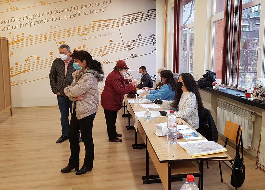 избирателна секция в Шумен