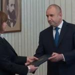 Корнелия нинова връща мандата на президента Радев
